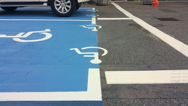 Le stationnement pour les personnes à mobilité réduite