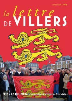 Lettre de Villers N°116