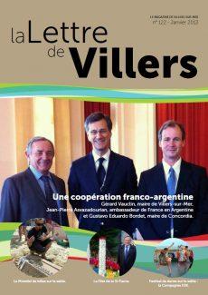 Lettre de Villers N°122
