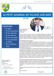 Le Petit Journal De Villers Avril 2021