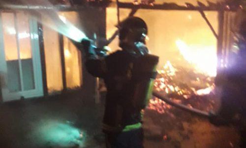 COMMUNICATION DE LA MAIRIE : incendie cette nuit rue du Lieutenant Fernand Bagot