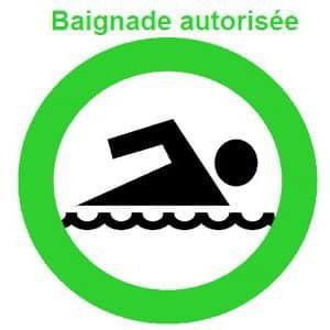 PLAGE : la baignade est de nouveau autorisée