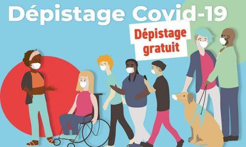 SANTÉ : tests Covid19 gratuits le 29 septembre de 13:00 à 19:00 salle Bagot