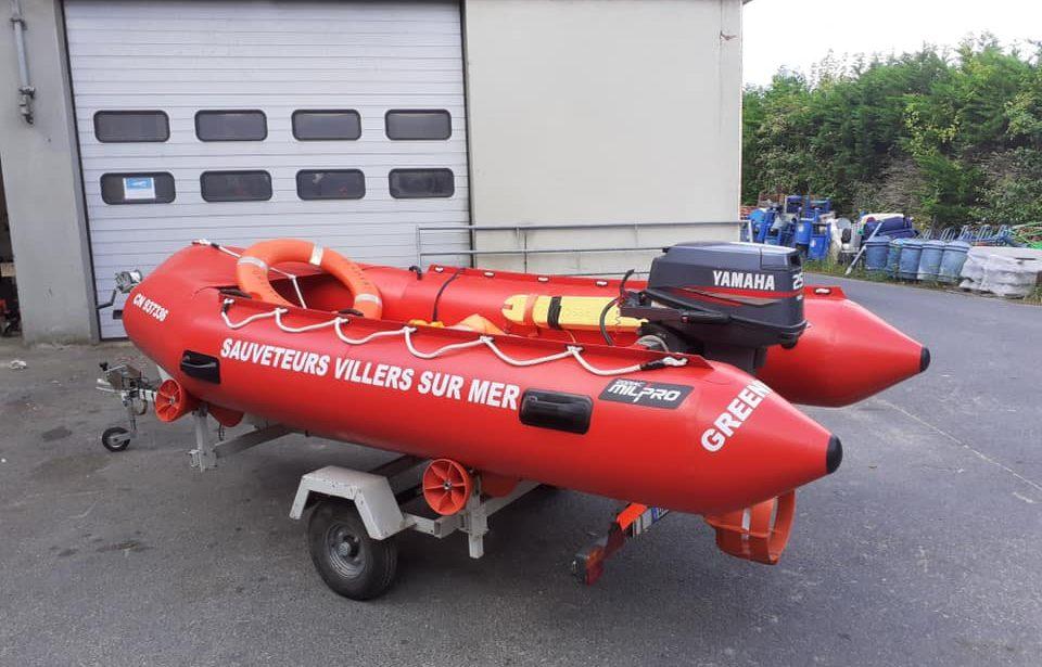 SÉCURITÉ : réception d'un tout nouveau bateau de secours en mer par notre ville