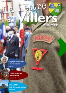 LA LETTRE DE VILLERS JUILLET/AOUT 2021