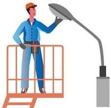 LA MAIRIE A VOTRE SERVICE : vérification du bon fonctionnement de notre éclairage public et interventions à venir