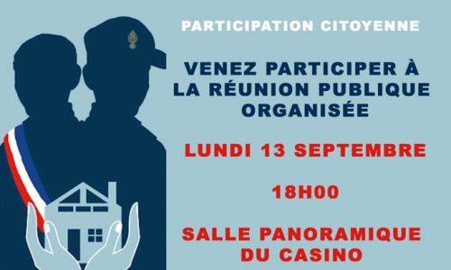 SÉCURITÉ : n'oubliez pas de venir parler de sécurité à Villers avec vos élus et la gendarmerie lundi soir à 18:00 au casino