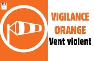 ALERTE MÉTÉO VENTS VIOLENTS!
